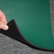 5mm绿色哑光乐动体育在线胶皮