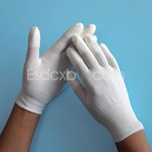13针尼龙PU涂指手套