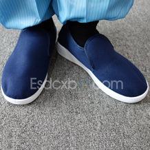 藏青色乐动体育在线帆布棉鞋